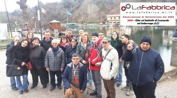 Gita sul battello di Leonardo a Imbersago (LC) 2019